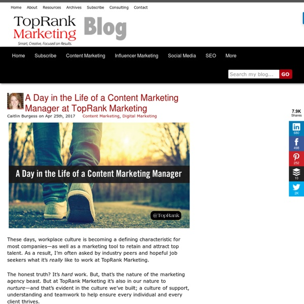 Online Marketing Blog - TopRank®