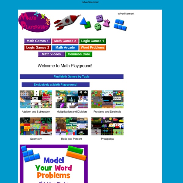 Math Playground - Online Math Games that Give your Brain a Workout