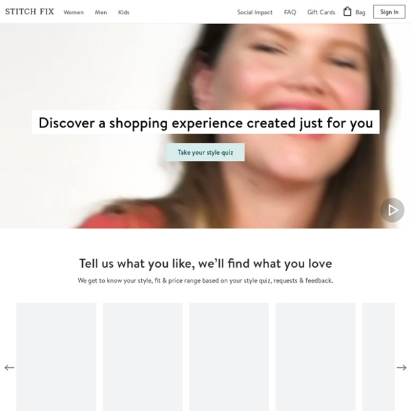 Online Personal Stylists for Women