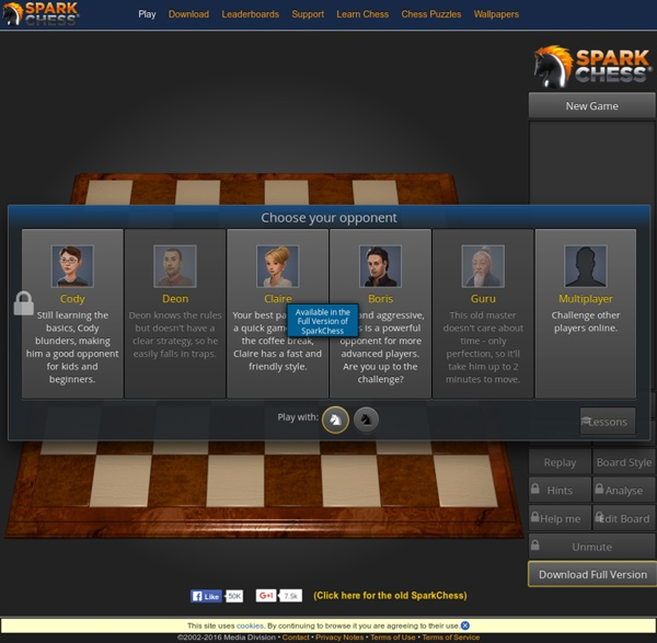 Play Chess Online - The Premier Free Online Multiplayer Flash Chess Game
