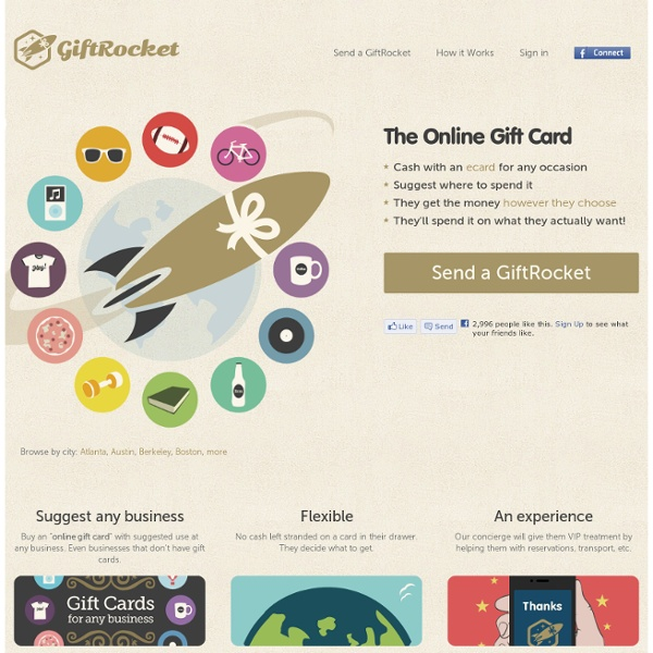 Online Gift Cards and Printable E-gift Cards