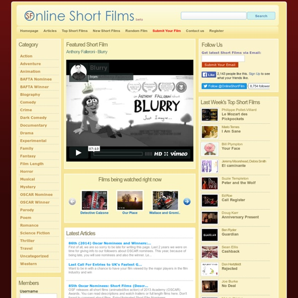 Online Short Films - Watch Free Short Films Online