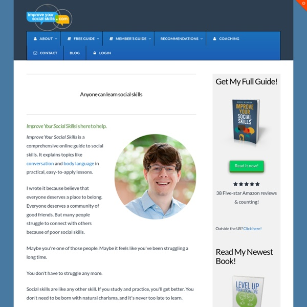 Online Social Skills Guide - Improve Your Social Skills