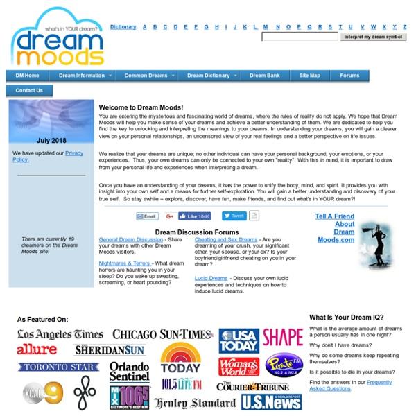 Your Online Source For Dream Interpretations