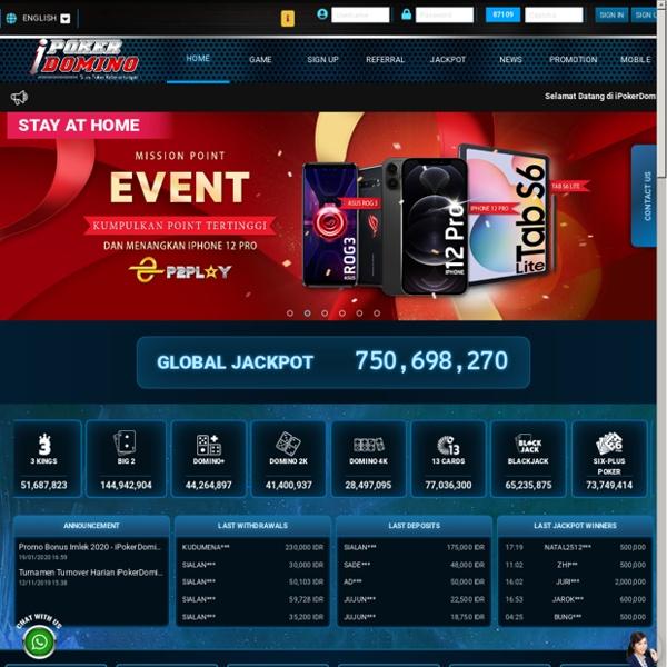 Judi Poker Online Terpercaya & Poker Domino Online