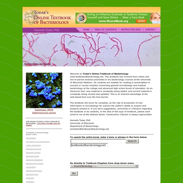 Online Textbook of Bacteriology