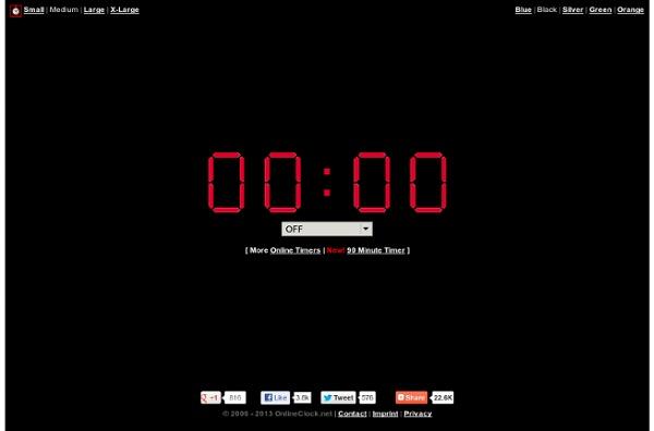 Online Timer