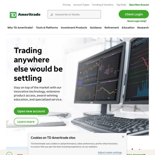 Online Stock Trading, Investing, Online Broker
