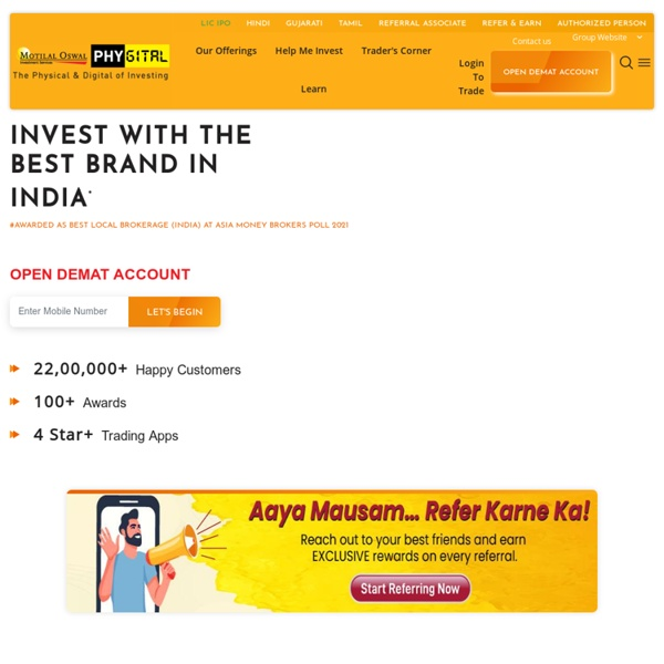 Online Share Trading & Stock Broker In India for BSE & NSE