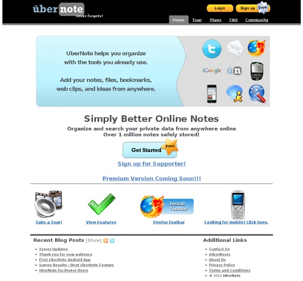 Online Web Notes - UberNote
