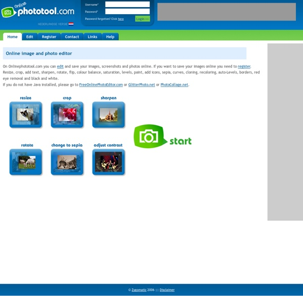 Onlinephototool.com: online image and photo editor