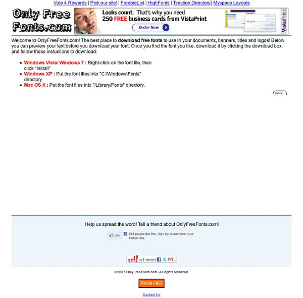 5000 Free Fonts, fonts for free, font finde