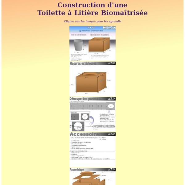 Construction d'une Toilette à Litière Biomaîtrisée