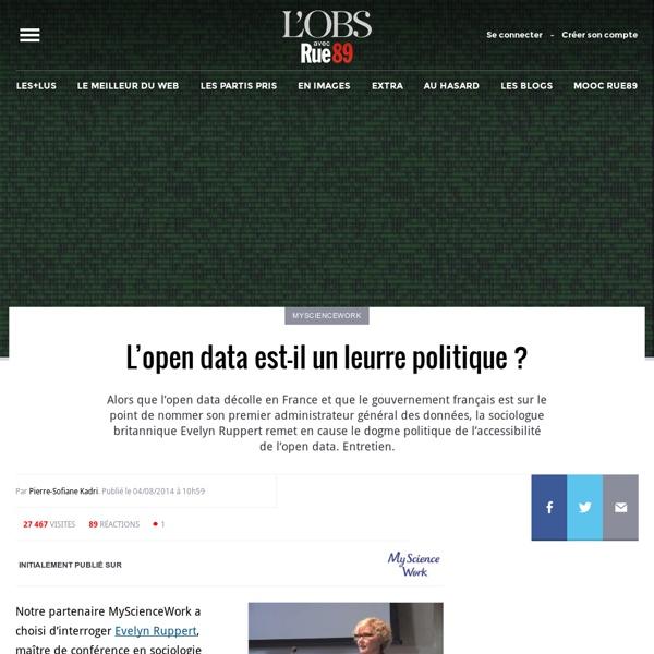 L'open data est-il un leurre politique?