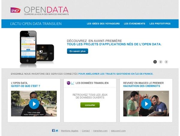 Open Data Transilien