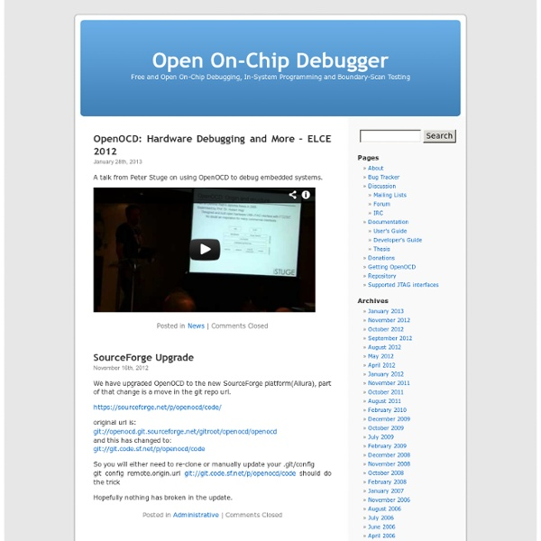 Open On-Chip Debugger