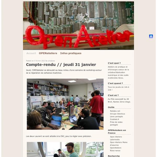 Openatelier.pingbase.net