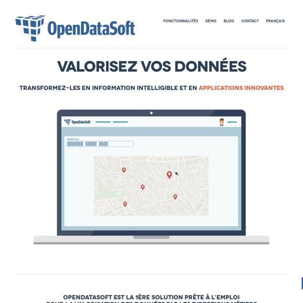 Plateforme clef-en-main pour l'open data