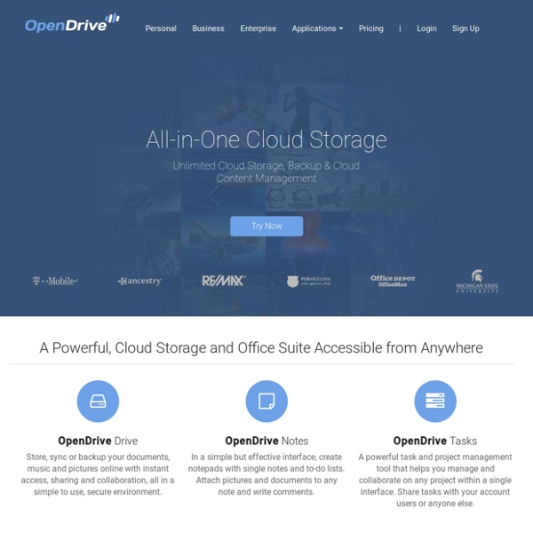OpenDrive OpenDrive Unlimited Online Storage and Backup