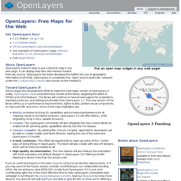 OpenLayers: Home