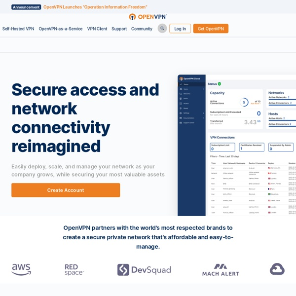 OpenVPN - Open Source VPN