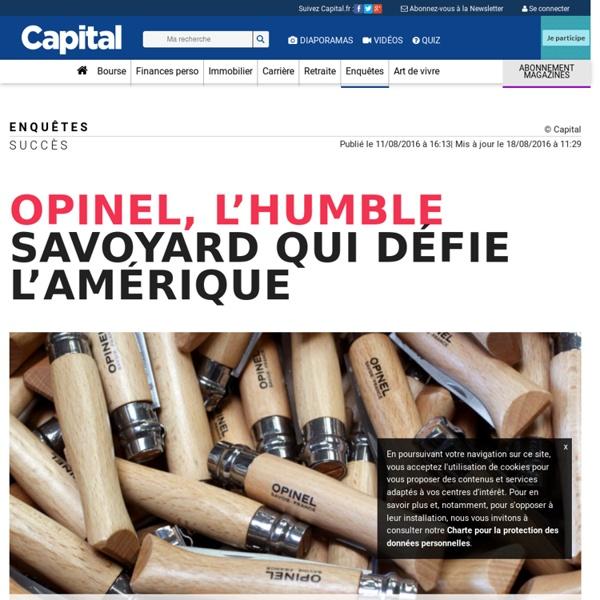 Opinel, l'humble savoyard qui défie l'Amérique
