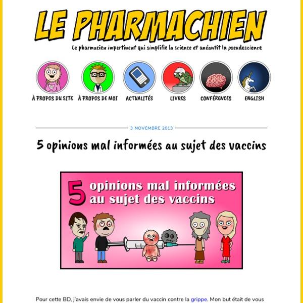 5 opinions mal informées au sujet des vaccins