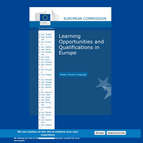 Commission européenne - PLOTEUS (Portal on Learning Opportunities throughout the European Space).