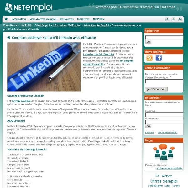 Comment optimiser son profil LinkedIn avec efficacité