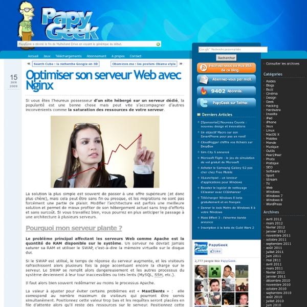 Nging pour optimiser son serveur web