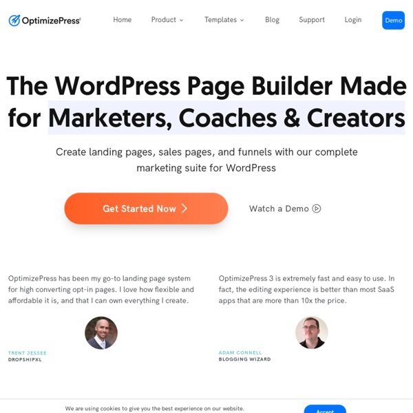 OptimizePress - Create Landing Pages, Sales Pages & Membership Portals — OptimizePress