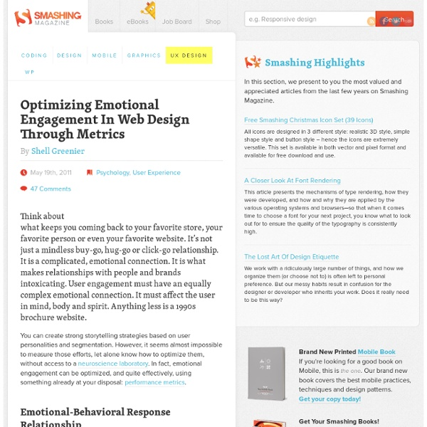 Optimizing Emotional Engagement In Web Design Through Metrics