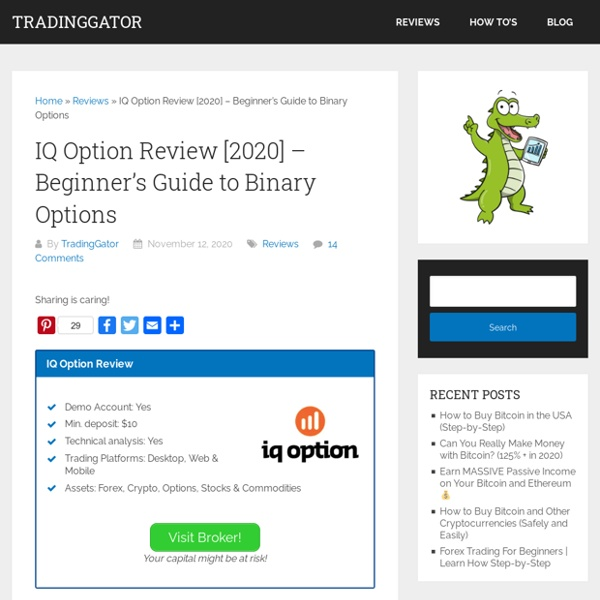 IQ Option Review [2020] - Beginner's Guide to Binary Options