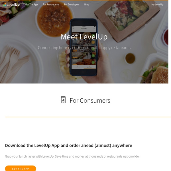 LevelUp .: Mobile Loyalty & Payments