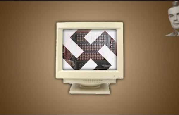 """""""E-penser"""" - Alan Turing VS Enigma, ordinateur et pomme empoisonnée..."""