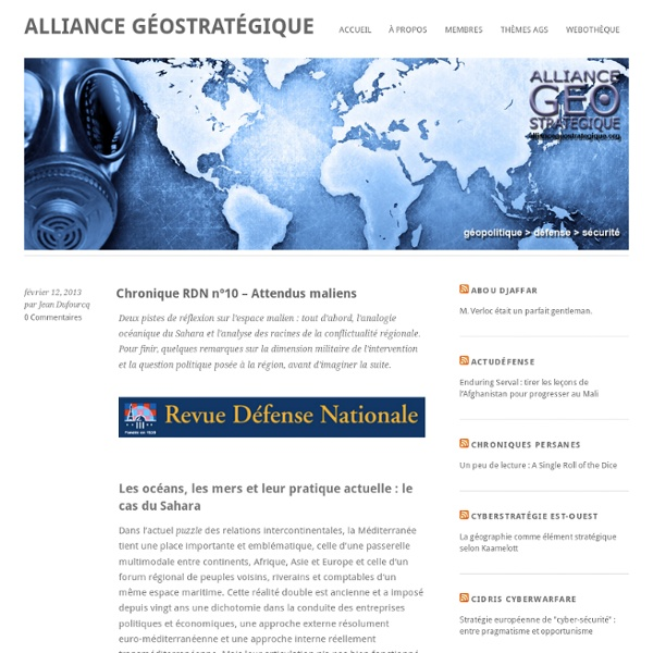 Alliance Geostrategique