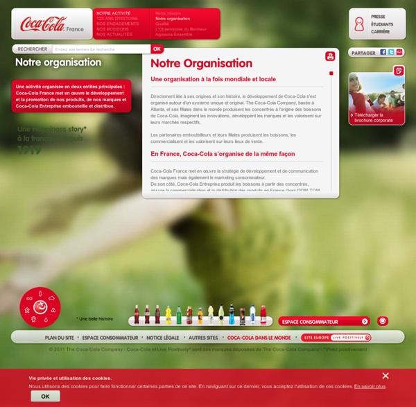Organisation Coca-Cola : entreprise responsable
