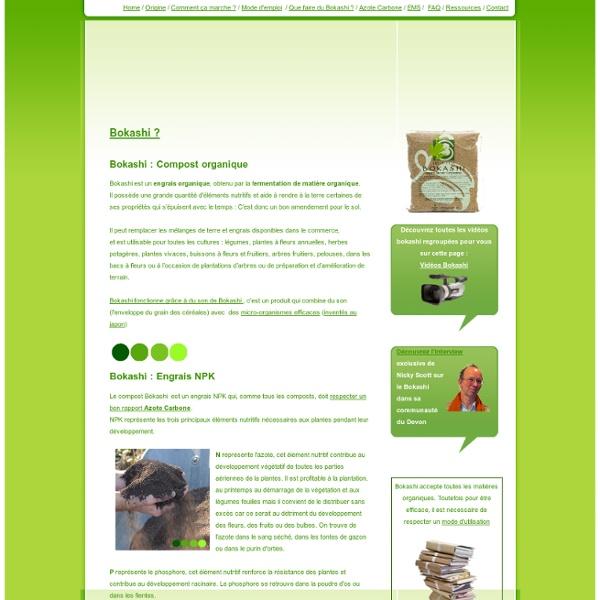 Bokashi - Micro organismes efficaces
