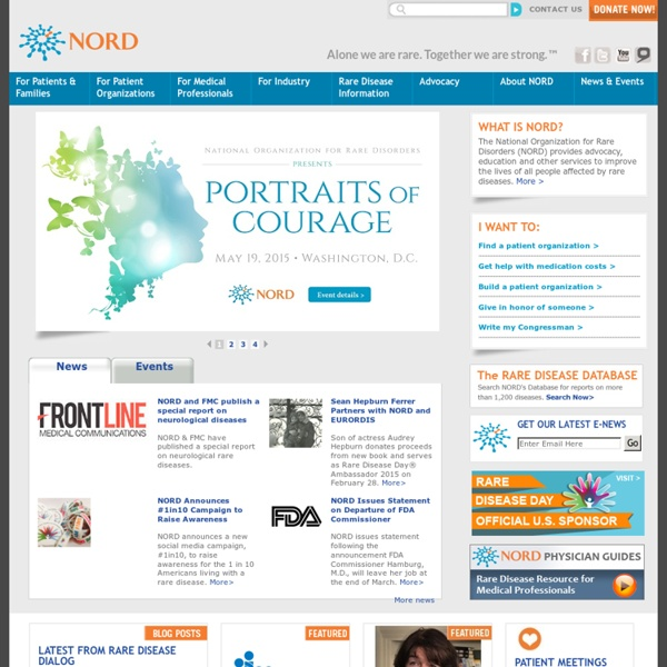 NORD - National Organization for Rare Disorders, Inc.