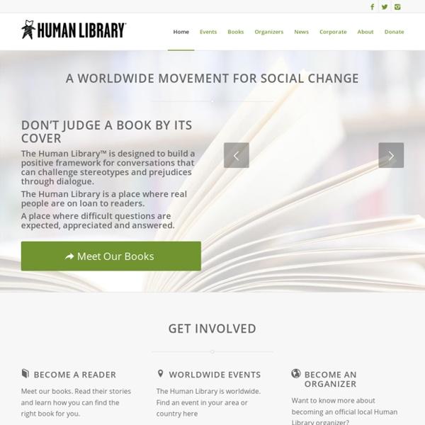 The Human Library Organization - HumanLibrary.org