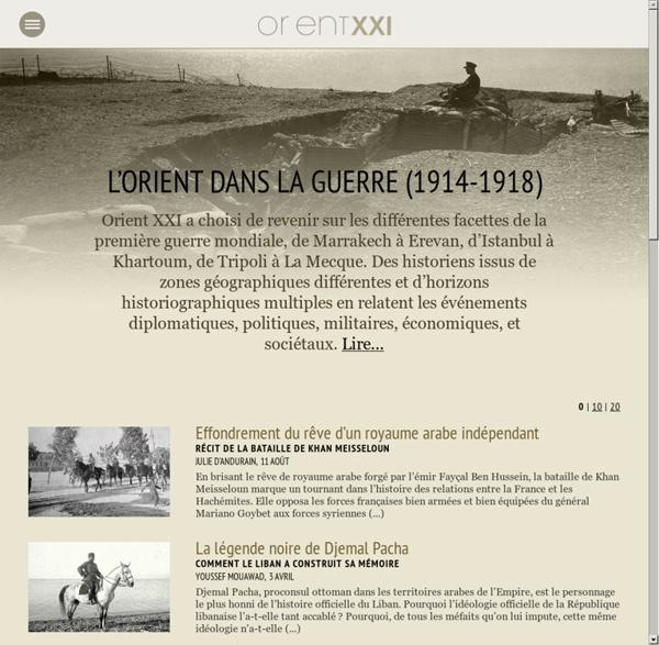 L'Orient dans la guerre (1914-1918)