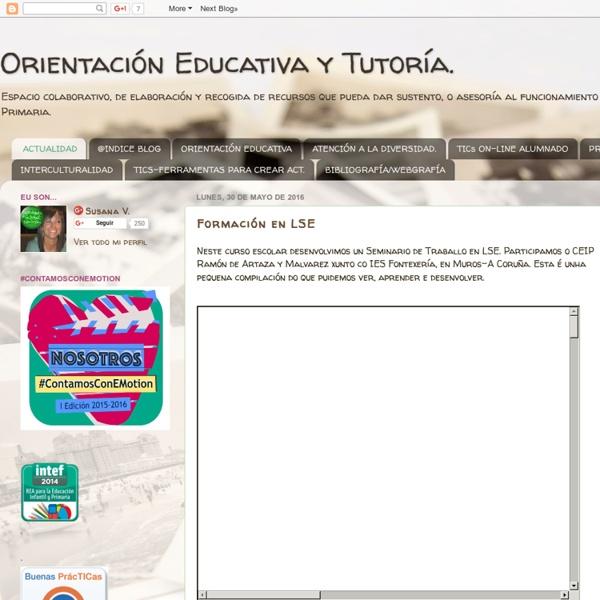 Orientación Educativa y Tutoría.