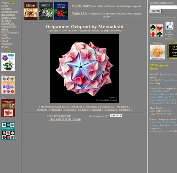 Origami - MM's Modular Mania