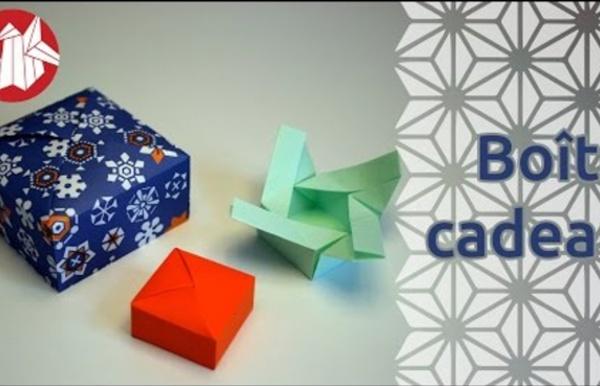 Origami - Boîte cadeau