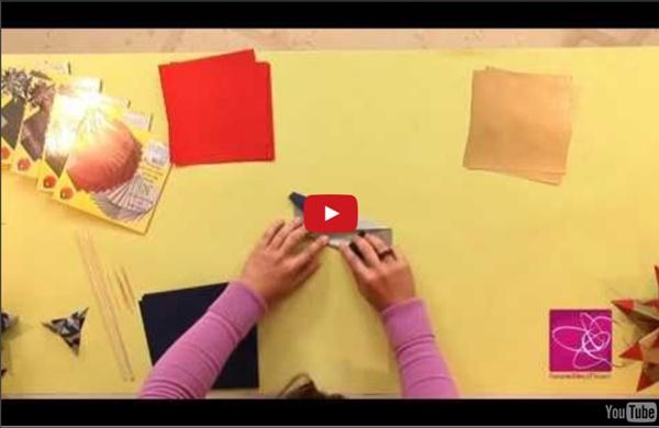 Origami : créez une décoration de table en pliages de papier