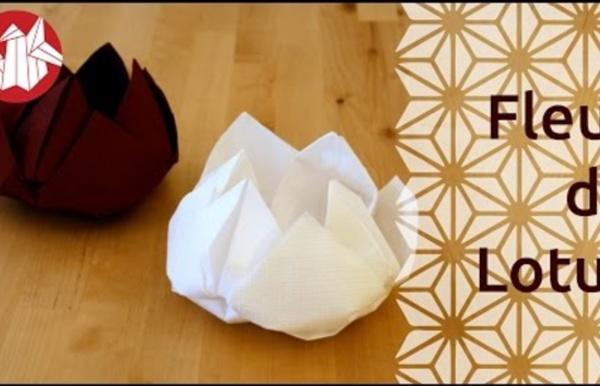 Origami fleur de lotus pearltrees - Youtube origami fleur ...