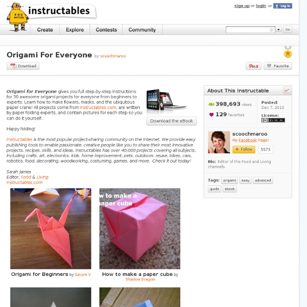 origami for everyone pearltrees