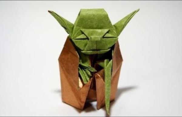 Origami Jedi Master Yoda (Fumiaki Kawahata)