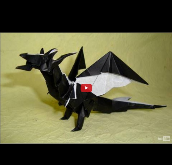 origami fiery dragon instructions kade chan pearltrees