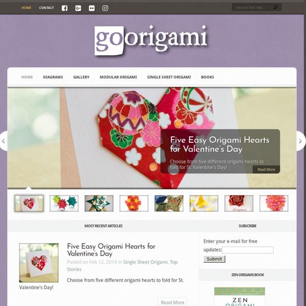 Kusudama & Modular Origami